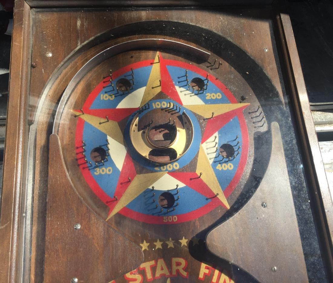 1 Cent Five Star Final Gottlieb pinball machine 1932 - 3
