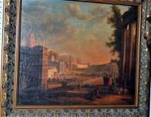 Dutch 17th c  oil on canvas