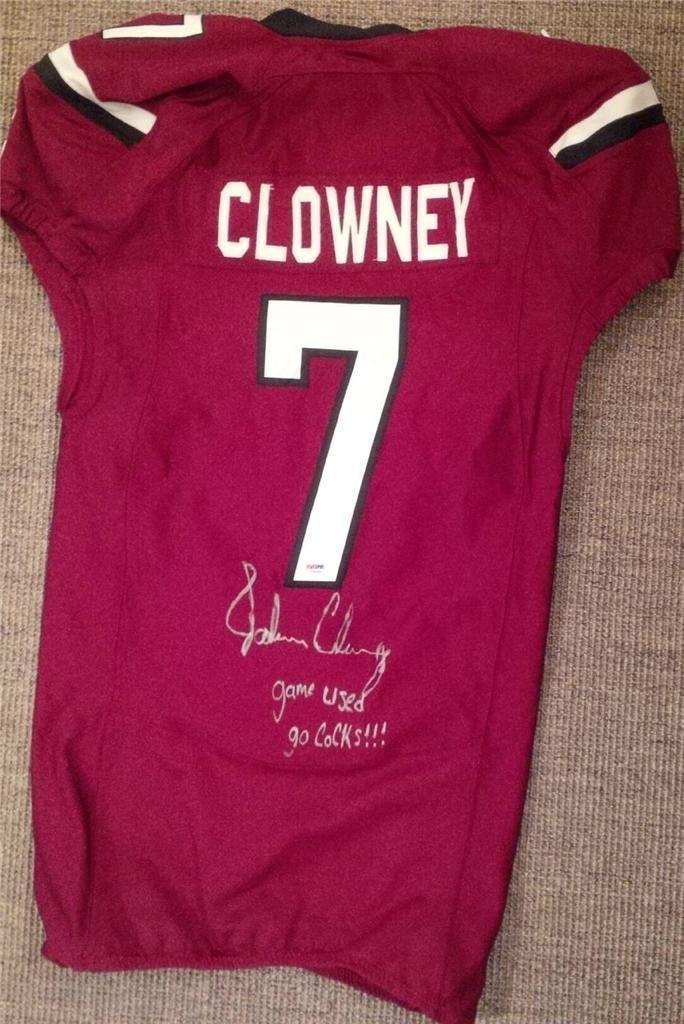 Jadeveon Clowney Signed Game Used Jersey South Carolina