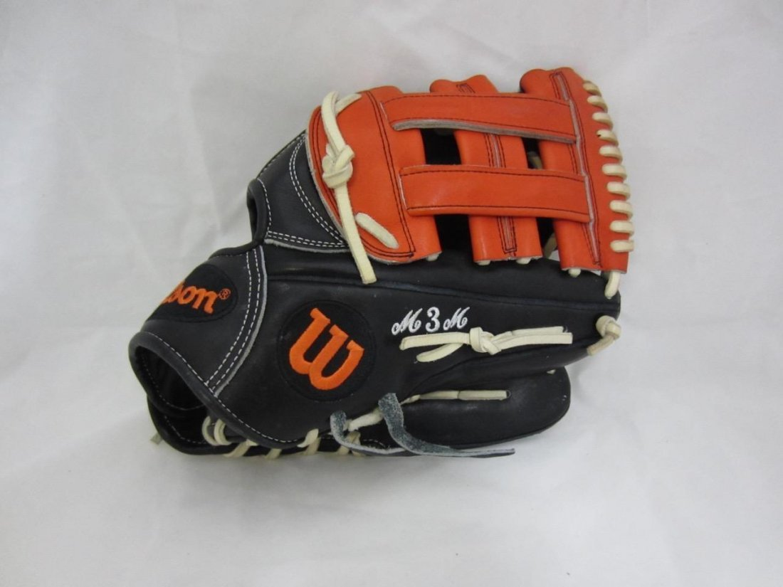 2013 Manny Machado Authentic Signed Game Used Wilson