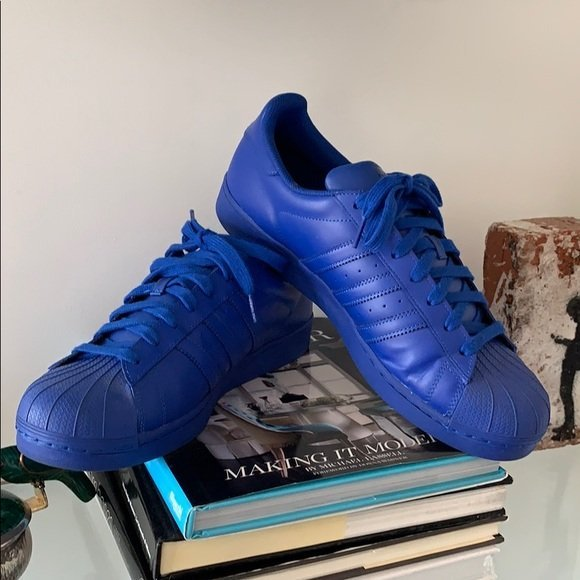 Low top Sneakers by Pharrell Williams for Adidas sz12
