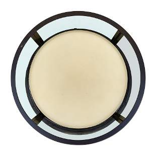 Modern Wall Light with Bronzed Frame