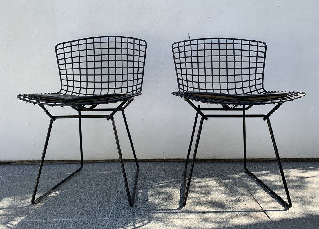 Pair of Original Harry Bertoia Side Chairs for Knoll