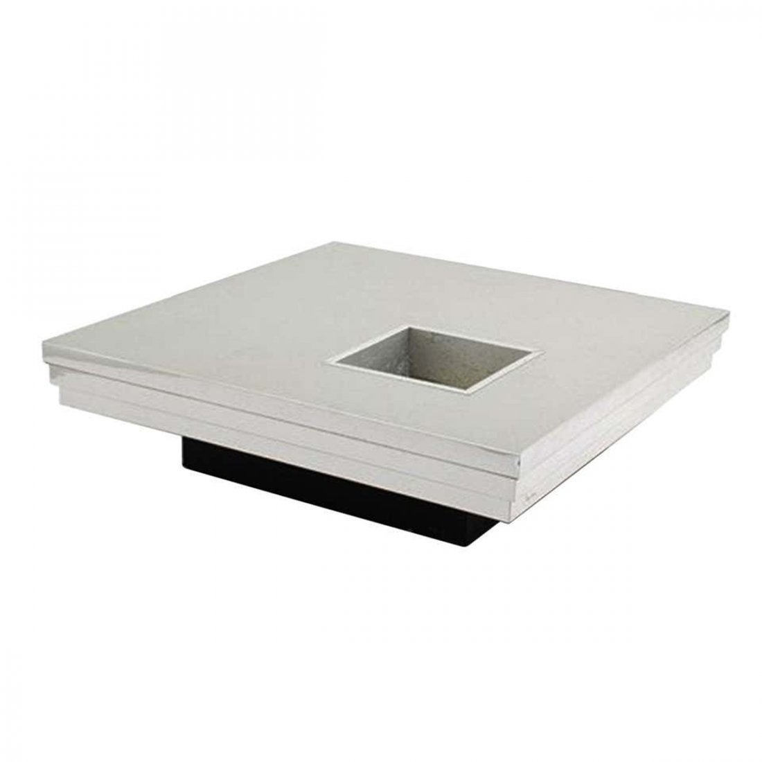 Pierre Cardin Coffee Table w/ a Graduated Aluminum Top