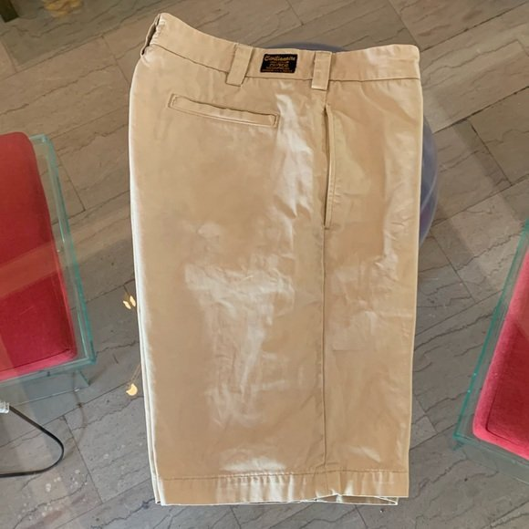 Men's Chino Shorts by Civilianaire, USA Made 34x10