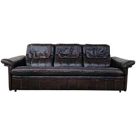 3 Seater Leather Sofa by De Sede Switzerland