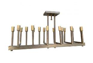 18 Lights Brass chandelier