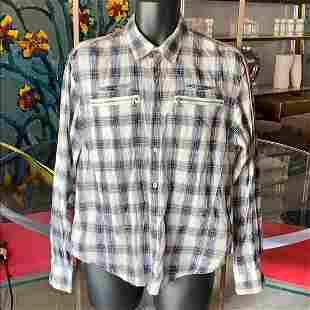 John Varvatos Long Sleeve/Button Down Shirt sz L