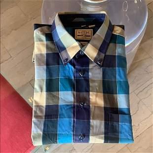 Men's dress Shirt New no tags By Haupt Germany, L