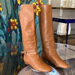 Knee High Boots made in Italy by Chloe size 41