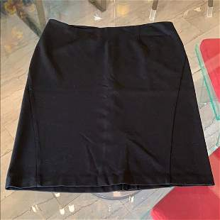Black Midi Skirt by Alfani, size 12