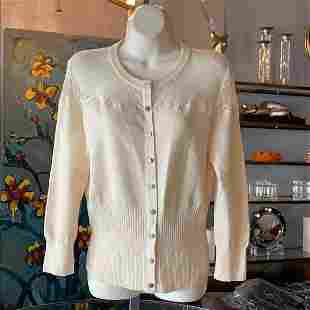 Laced & Embroidered Cardigan by Karen Millen sz 4