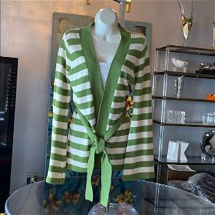 Open Front Cardigan by Trina Turk made in the USA