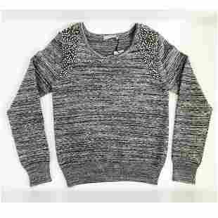 """""""Ariel"""" Sweater By One Grey Day Sz S - NEW WITH TAGS,"""