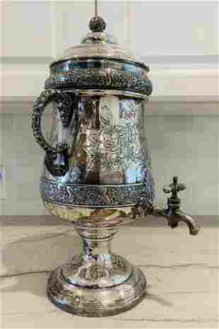 Silver Tea/ Coffee Dispenser by Middletown Plate C