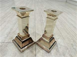 Silverplated Candle Holders by LUNT