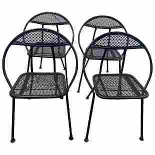 Set of 4 Folding Chairs by Salterini for Rid-Jid