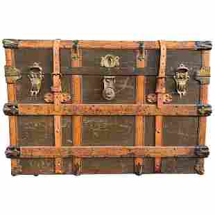 """Common Sense"" Steamer Trunk by the Hartmann Trunk Co,"