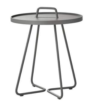 Side Table With Detachable Tray by Stand+Hvass