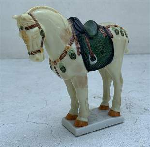 TANG DYNASTY HORSE FRANKLIN MINT 1987