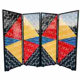"Folding Screen Art by Arthur Drooker ""Photo-Quilts"""