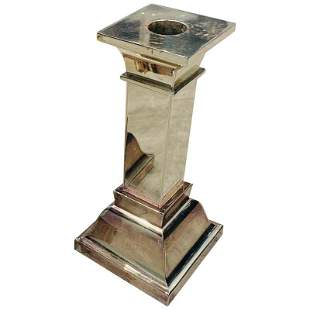 Silverplated Candle Holder by LUNT
