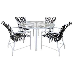 Brown Jordan Patio Set from the Tamiami Collection
