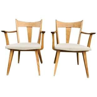 Pair of Armchairs by Heywood Wakefield