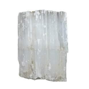 "Satin Spar Crystal Specimen/12.5"" W x 17.0"" L x 6.5"" D"