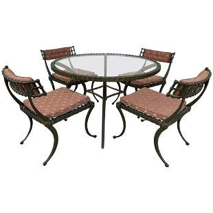 Pair of Thinline Klismos Dining/Side Chairs