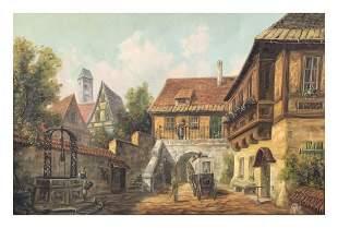 Large Oil Painting Signed Svi Azel