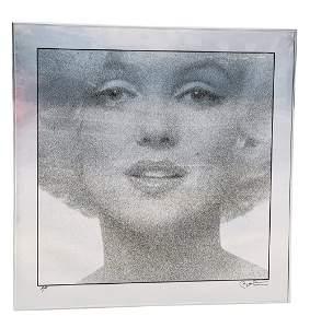 Marilyn Monroe Screen Print by Bert Stern, Artist Proof