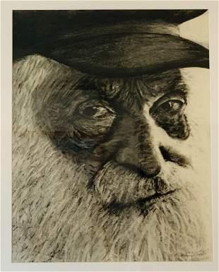 """OLD MAN"", by Richard J. Kamins, ca1985"