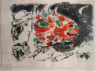 Marc Chagall After Winter, from: Beyond the Mirror 1971