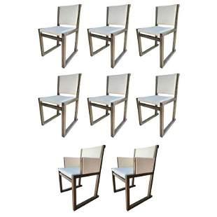 Set of 10 Musa Chairs by Antonio Citterio for Maxalto
