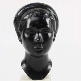Bronze Bust of a Vietnamese Woman Thanh Le Nguyen attb