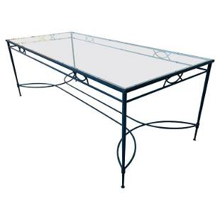 Amalfi Outdoor Dining Table by Janus et Cie, 8ft Long