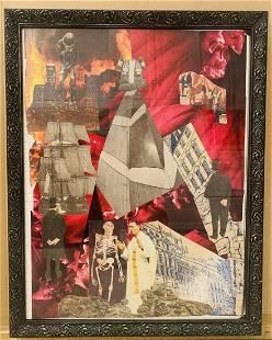Robert Schwan Collage Jet Print -THE EXPLANATION-
