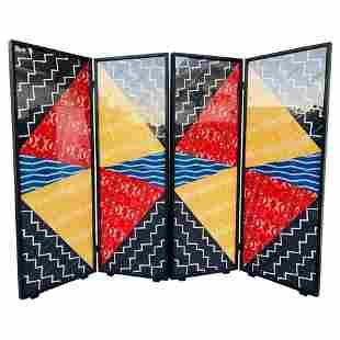 "Folding Screen Art by Arthur Drooker ""Photo-Quilts"""