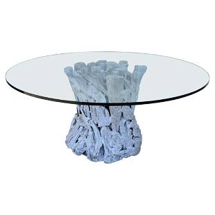 Weatherby Dining Table by Arteriors, 66 Inch Diameter