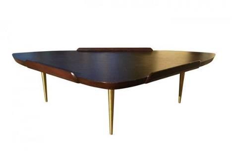 Mid-Century Modern Coffee Table attb to Finn Juhl