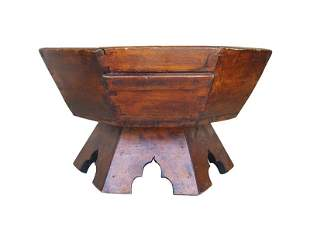 Octagonal Asian Coffee Table