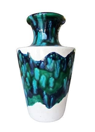 1960's Ceramic Vase signed M/W