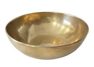 Set of 6 SOLID BRASS vintage bowls