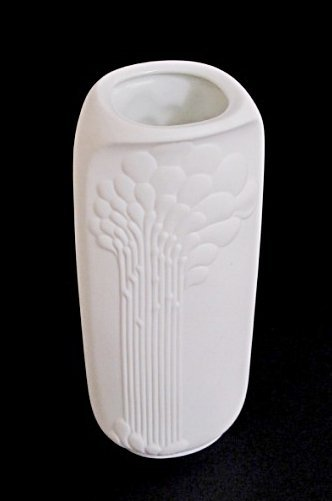 German Ceramic Vase W/ a Tulip Etching by A.K. Kaiser - 3