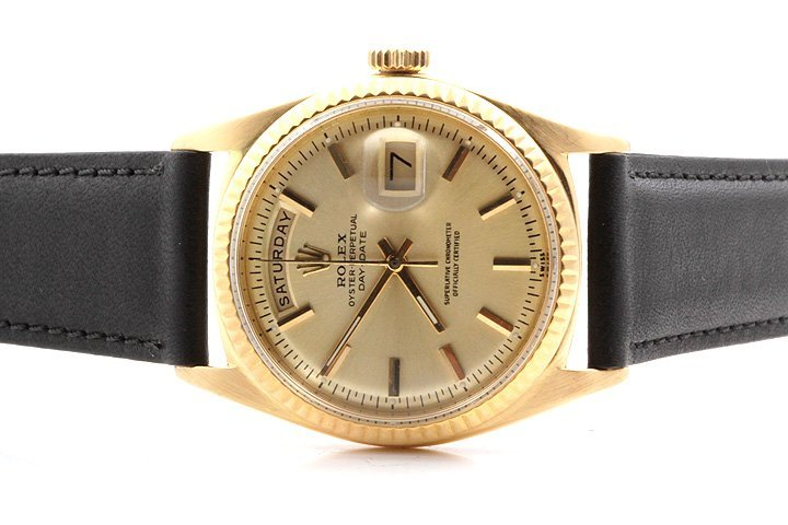 Rolex Mens Day-Date President - Champagne Dial 1803