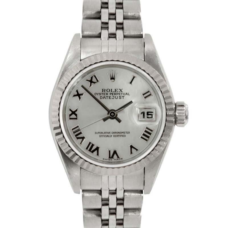 Rolex Ladies 69174 Datejust - MOP Roman Numeral Dial
