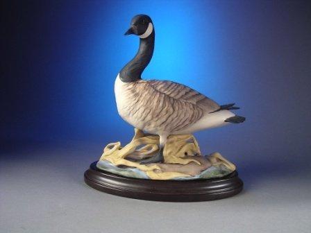 """82: A BOEHM SCULPTURE, """"Canada Geese,"""" U.S.A. 408 G, in"""