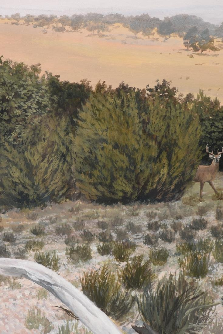 JAMES ROBINSON (American/Texas 1944-2015) A PAINTING, - 4