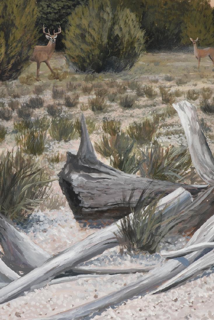 JAMES ROBINSON (American/Texas 1944-2015) A PAINTING, - 6